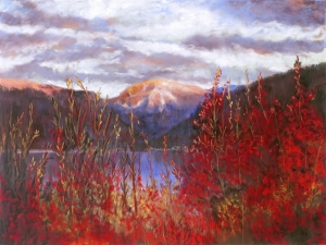 Mount Baldy in Red - 201